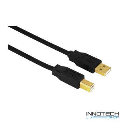 Hama usb adapter adat kábel aranyozott 1,8 m (29766)