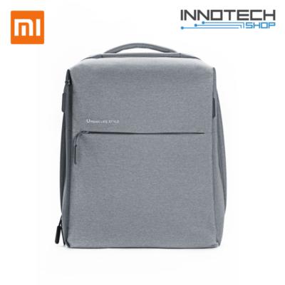 """Xiaomi Mi City Minimalist Urban Backpack - 14"""" notebook laptop táska hátizsák - világosszürke"""