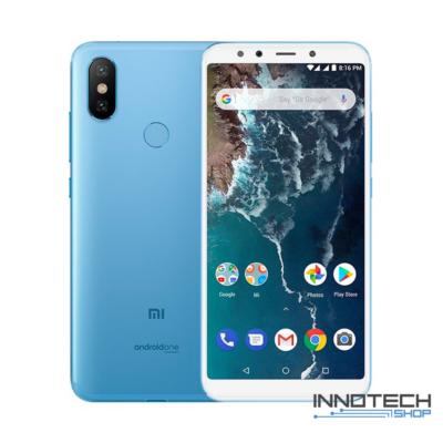 Xiaomi Mi A2 64 GB / 4 GB RAM Dual Sim kártyafüggetlen okostelefon (4G LTE magyar menü) Kék