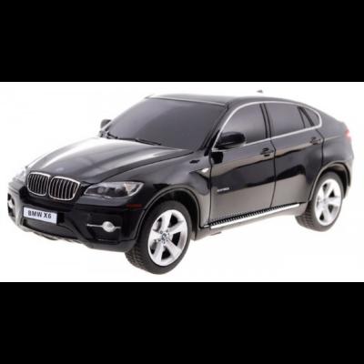 BMW X6 1:24 20,4cm távirányítós modell autó Rastar 31700 RTR modellautó - fekete