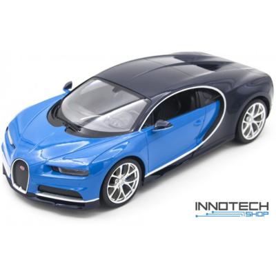 Bugatti Chiron 1:14 32,4cm távirányítós modell autó Rastar 75700 RTR modellautó - kék