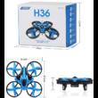 JJRC H36 típusú drón quadcopter (játék kategória) (8.5cm 2.4GHz drone, rc H36 mini quadrokopter) - fekete