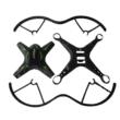 FQ01 kreatív DIY távirányítós drón építőkészlet quadcopter 32cm 4CH 2.4GHz (innovatív összeszerelős kialakítás nagy méret kamera nélkül) fekete
