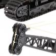 Távirányítós óriás lánctalpas emelő daru 65cm 1:14 3kg RC játék munkagép Huina Toys 1572 RTR 2.4GHz