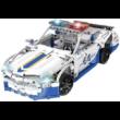 Double Eagle távirányítós építőkészlet játék szett rendőrautó (430 db, 31,7 cm) RC sport autó versenyautó építőkészlet játék szett EE Double E CaDa (C51006W)