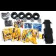 Double Eagle távirányítós építőkészlet játék szett RC 2in1 sport pickup / teher autó (514 db, 35.8 cm 2.4GHz) RC bumblebee sportautó versenyautó EE Double E CaDa (C51003W)