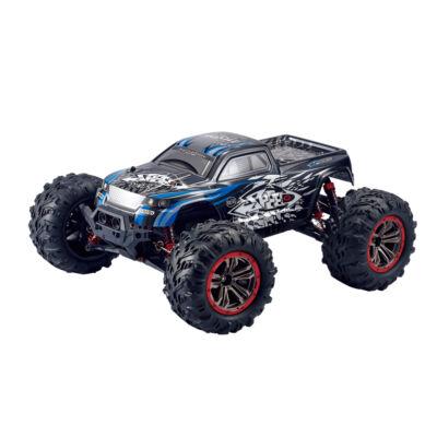 N516 profi óriás off road 4WD 45km/h nagy sebességű 1:10 34.5cm RC távirányítós terepjáró autó (2.4GHz 4x4 Li-ion RTR versenyautó) - kék