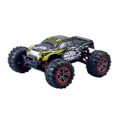 N516 profi óriás off road 4WD 45km/h nagy sebességű 1:10 34.5cm RC távirányítós terepjáró autó (2.4GHz 4x4 Li-ion RTR versenyautó) - sárga