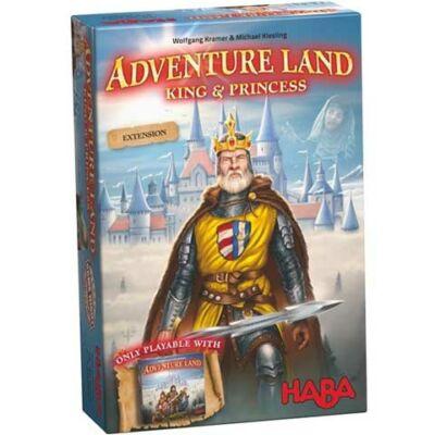 Adventure Land - King & Princess kiegészítő a Kalandok földje társasjátékhoz - Angol nyelvű