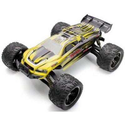 XLH 9116 profi Truggy Racer 2WD 40km/h nagy sebességű 1:12 34cm 2.4GHz RC távirányítós autó (XinLeHong Toys 40 km/h Truggy Racer versenyautó) - sárga