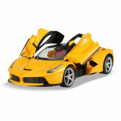 Ferrari LaFerrari F70 1:14 33,8cm távirányítós modell autó Rastar 50100 RTR modellautó - sárga