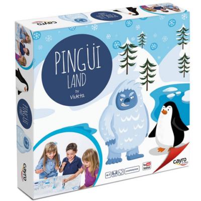 Pingvinek földje társasjáték