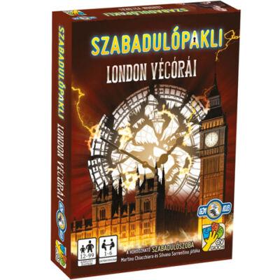 Szabadulópakli: London végórái társasjáték