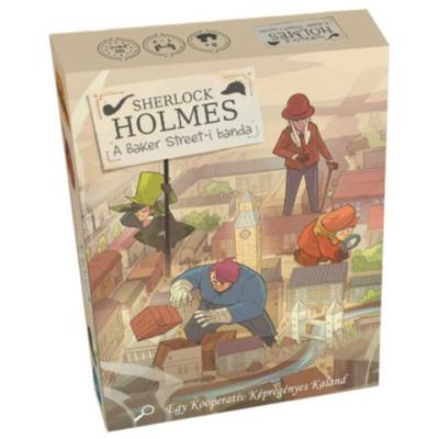 Sherlock Holmes: A Baker Street-i banda társasjáték